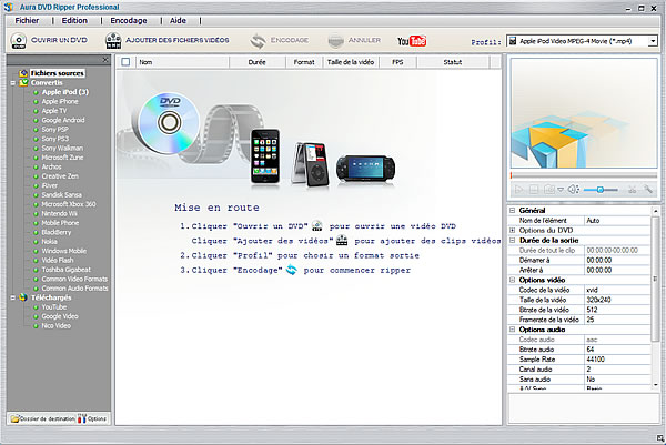 Software screenshot of the {$keywords} video converter program