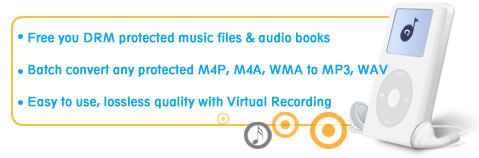 Convert M4P to MP3, AAC to MP3 and DRM music to DRM-free MP3 files