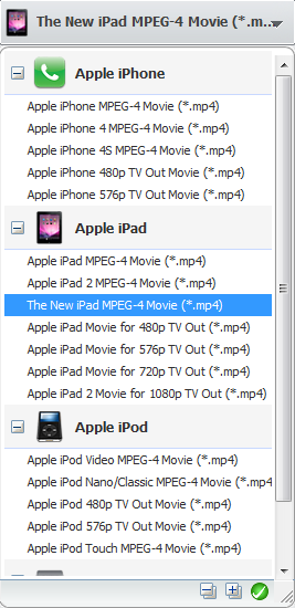 Convert videos for the New iPad