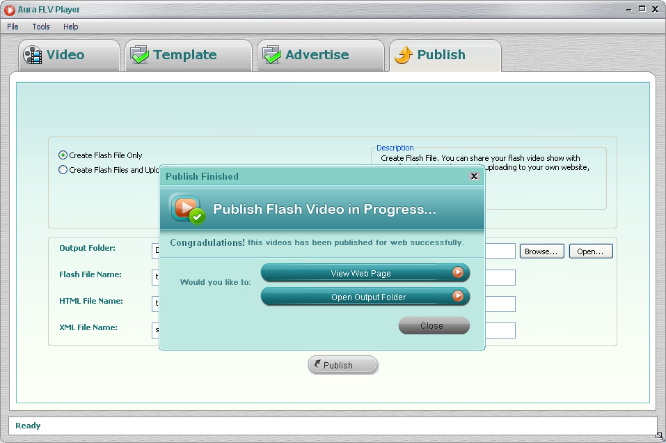 Upload your Flash videos to Go2Album, our free web album and online video hosting website