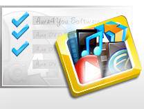 Download Aura DVD/video software, audio converter programme und anders mit Aura4You Download Manager.