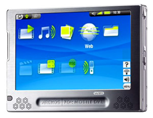 Use ARCHOS video converter to rip DVD movies and convert video formats