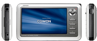 Use Cowon A2 video converter to rip DVD movies and convert video formats
