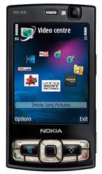 Use Nokia N95 8GB video converter to rip DVD movies and convert video formats