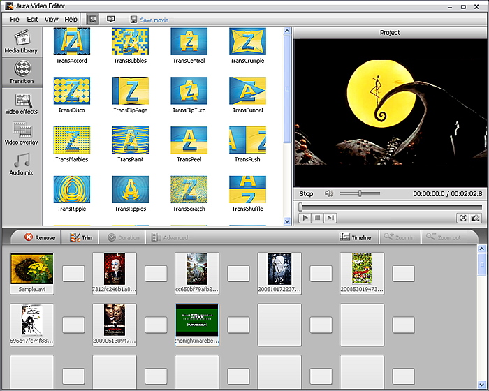 Aura Video Editor screenshot