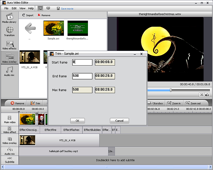Aura Video Editor edit home video