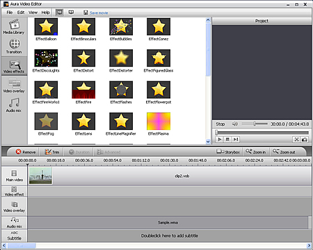 The 3G2 video editor program